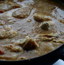 Indisk kyllinggryte
