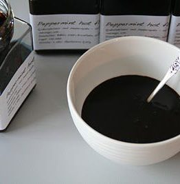 Sjokoladepeppermynte saus