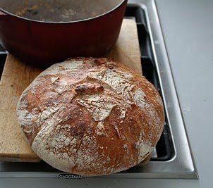 No knead bread - bak brød i helgen film!