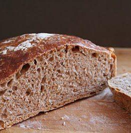 No knead bread - spelt variant