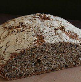 No-knead-bread - grov frøbrød variant