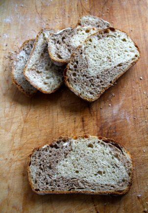 Eltefritt brød half and half