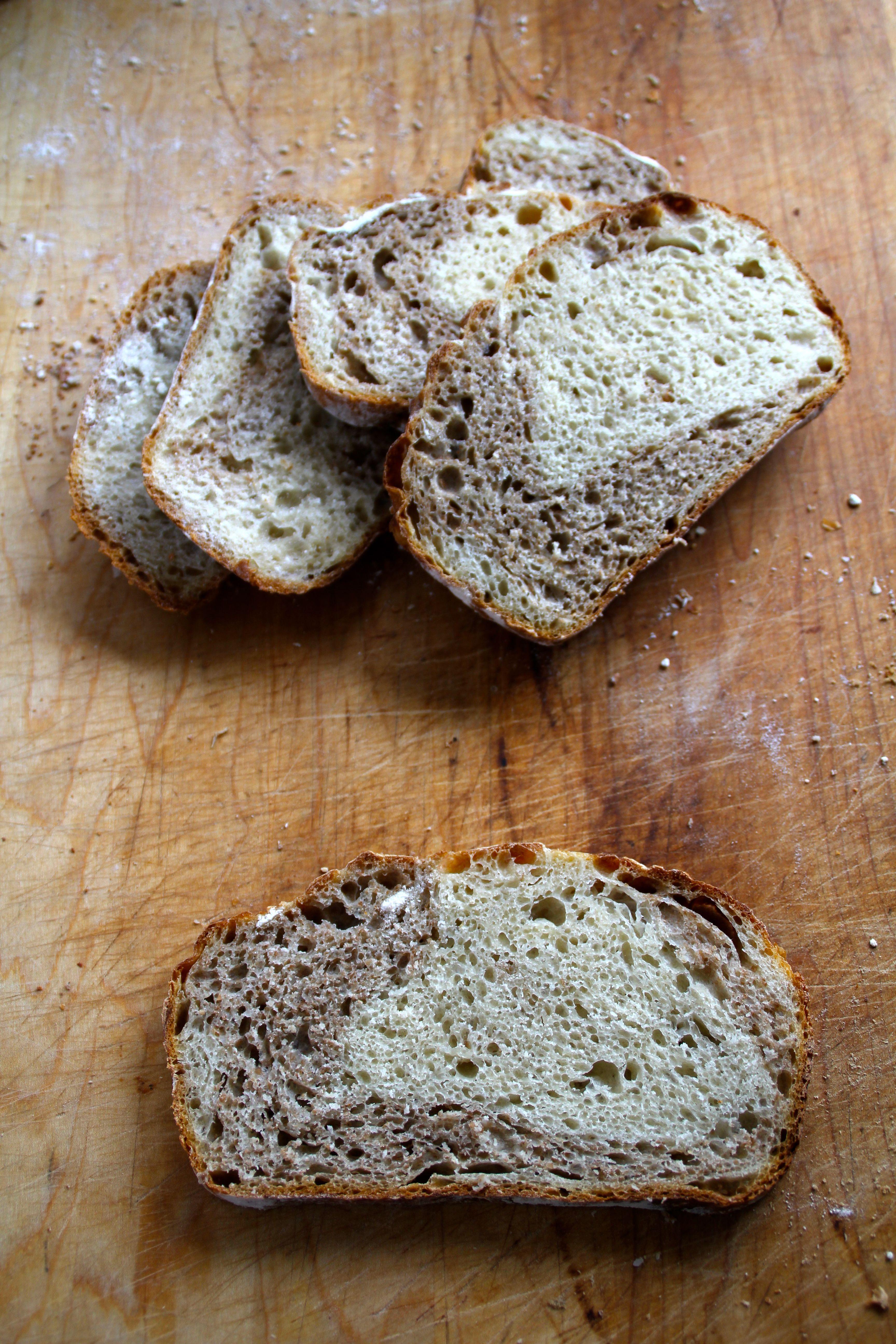 Eltefritt half n´half brød