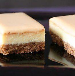 Ostekake med dulce de leche (karamell saus)