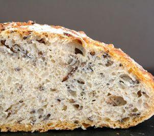 Eltefritt brød med villris