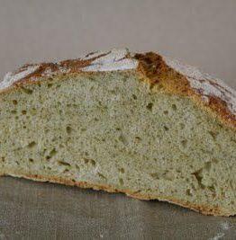Eltefritt grønn squashbrød