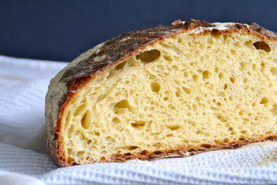 Eltefritt brød med polenta
