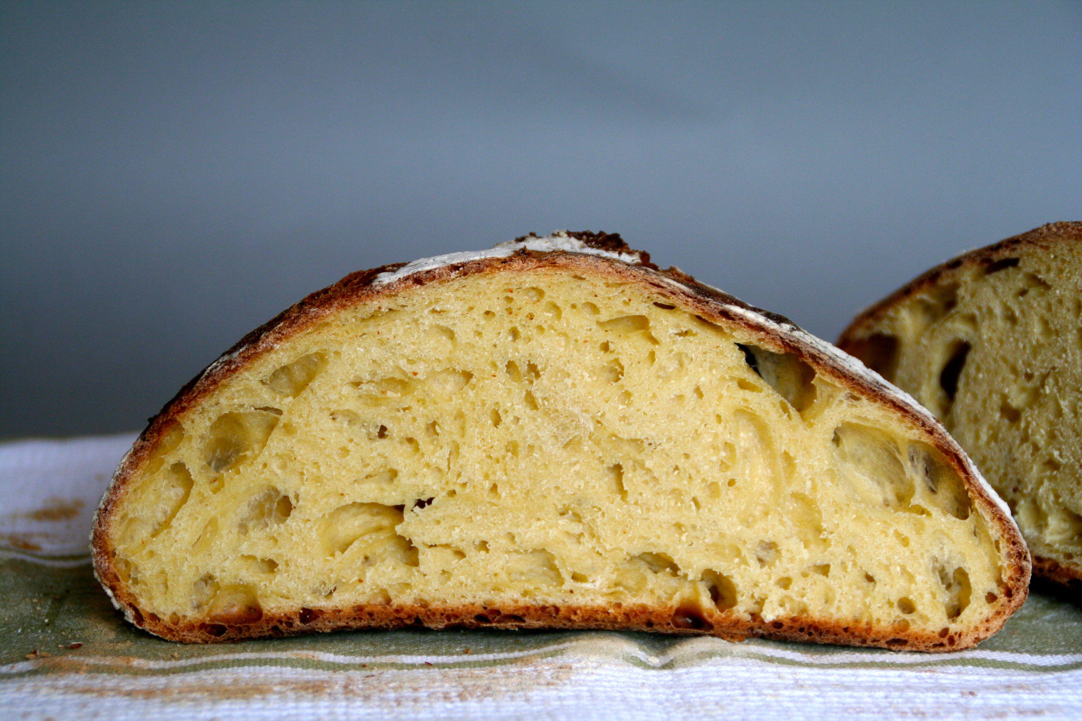 Eltefritt brød med egg og melk