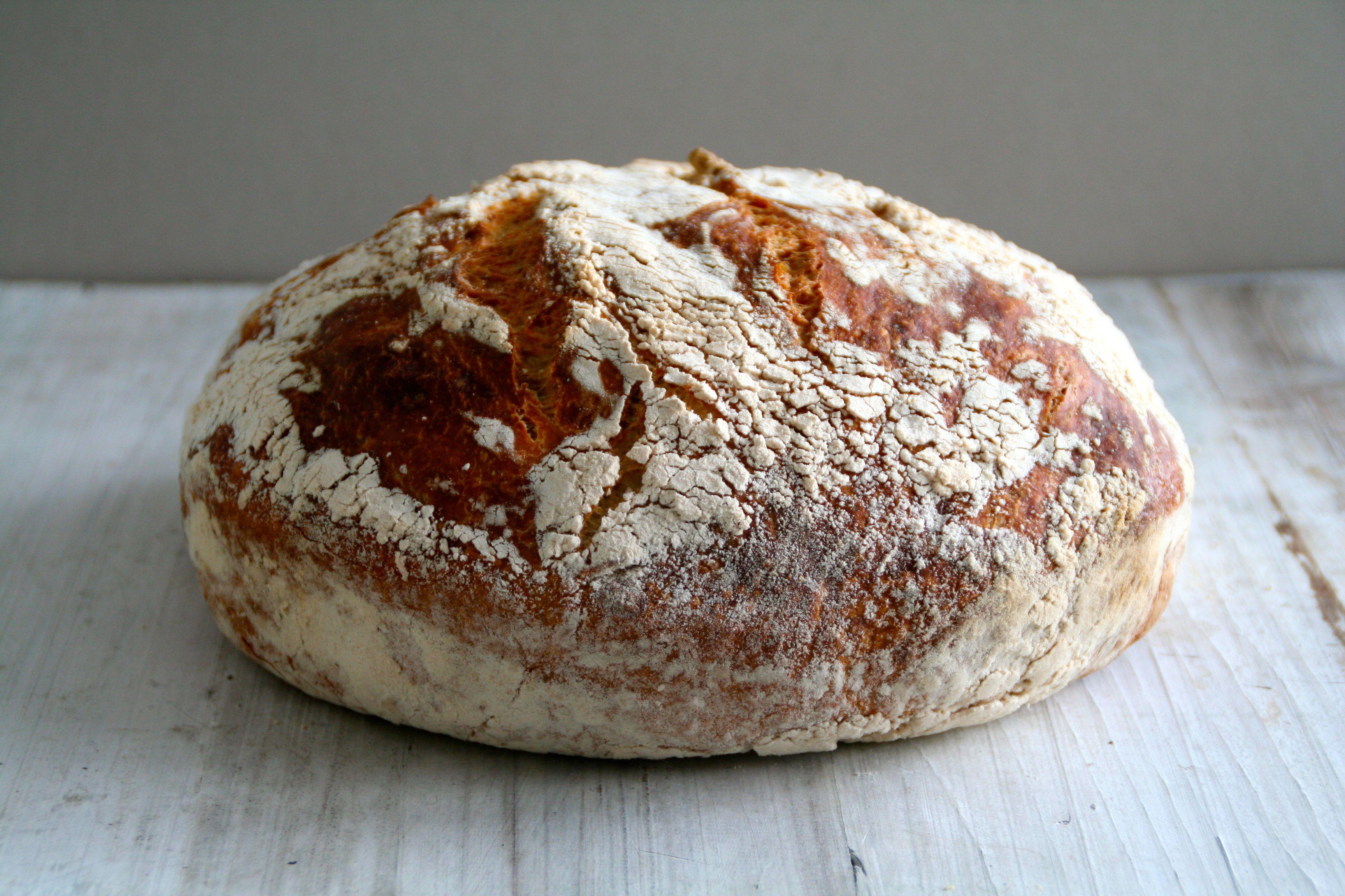 Eltefritt brød med cheddar, salvie og sennep