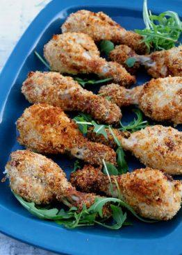 Ovnsbakte kyllingkubber