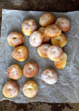 Bakte doughnuts