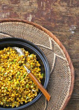 Grillet maissalat