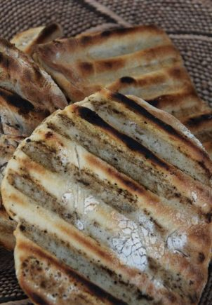 No knead brød på grillen