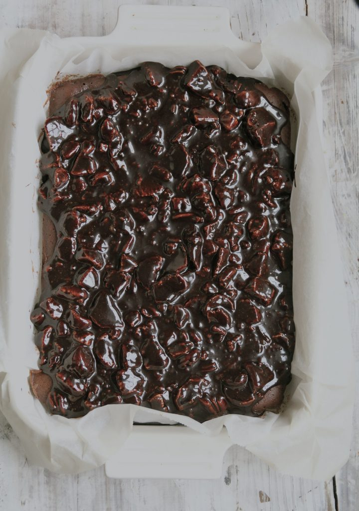 Rocky road sjokoladelangpannekake