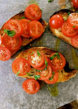 Klassisk bruschetta