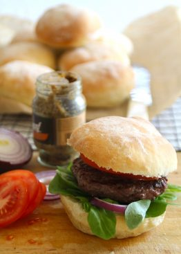 myke hamburgerbrød