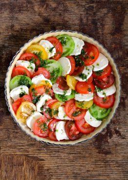 tomatterte med chèvre