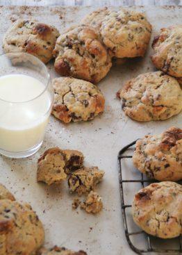 Cookies med alt mulig godt