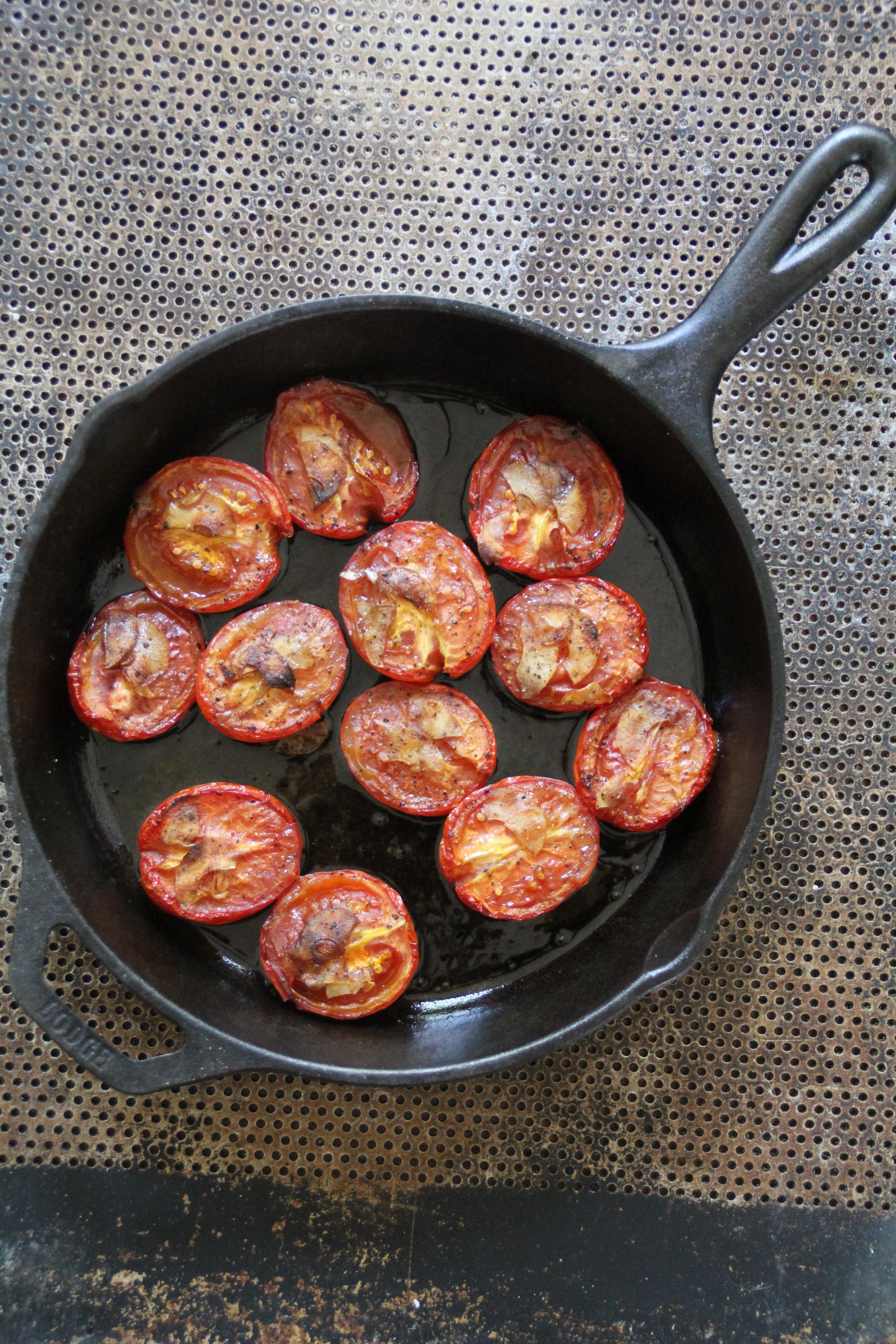 Grillede tomater