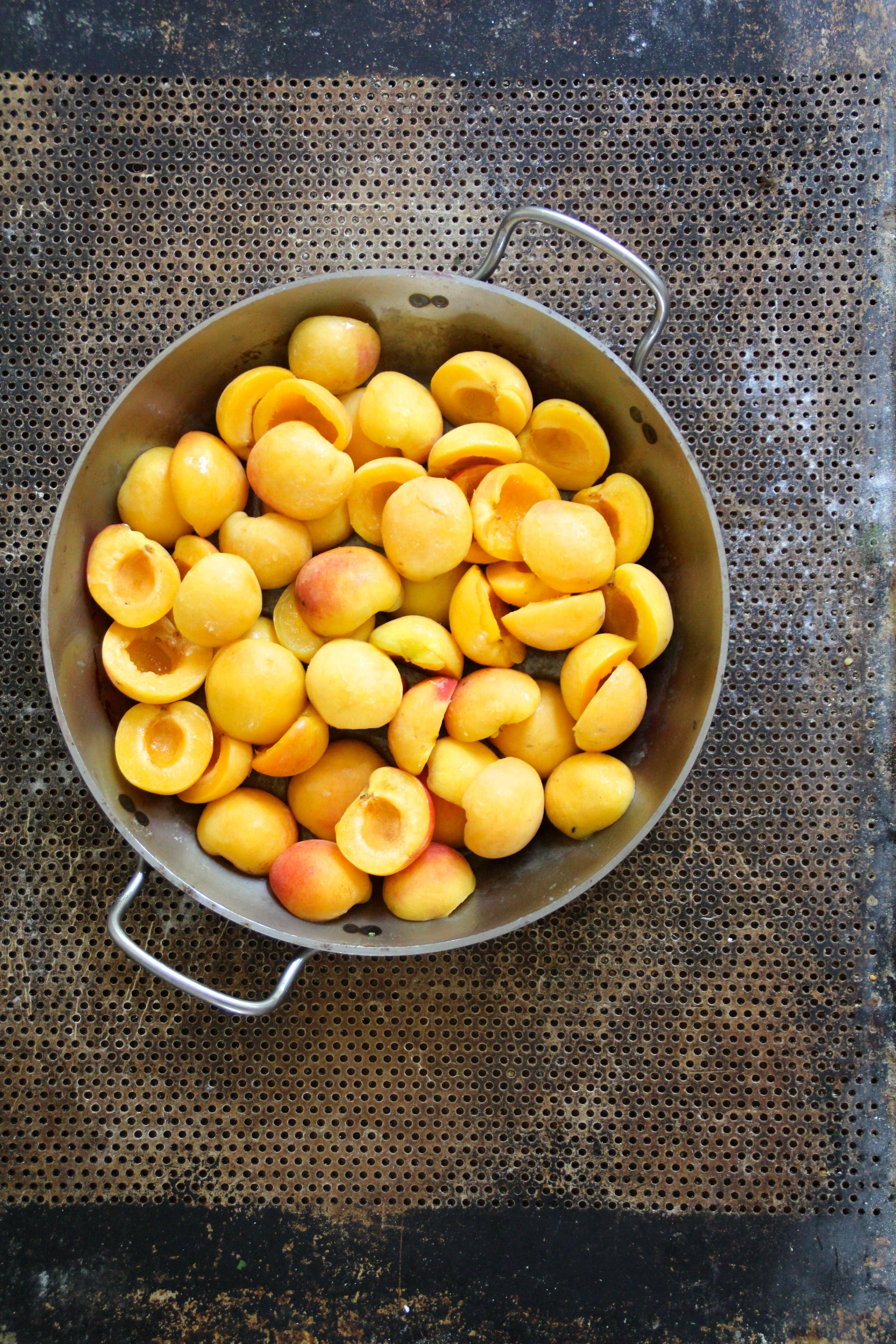 Clafoutis med aprikoser