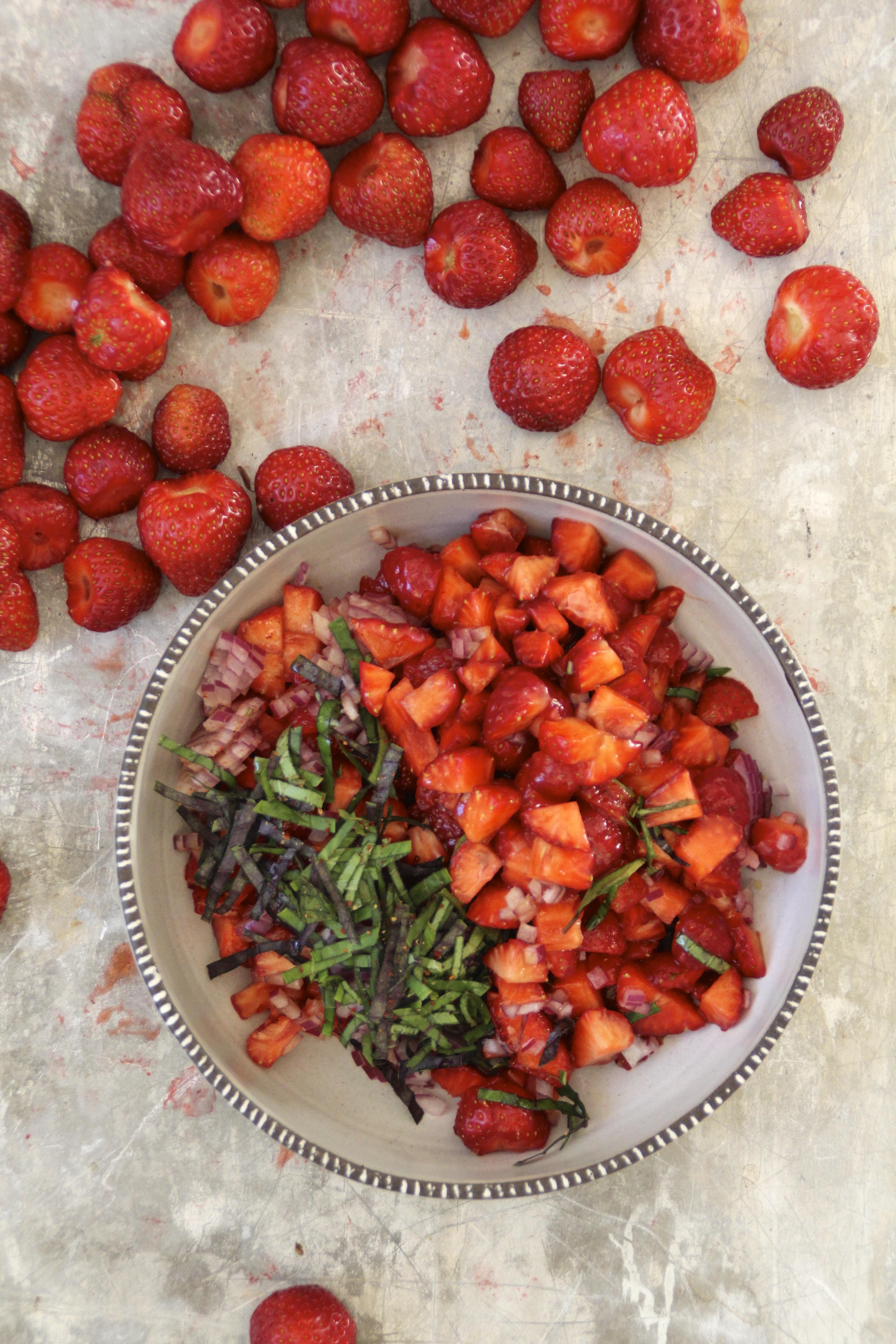 jordbærsalsa