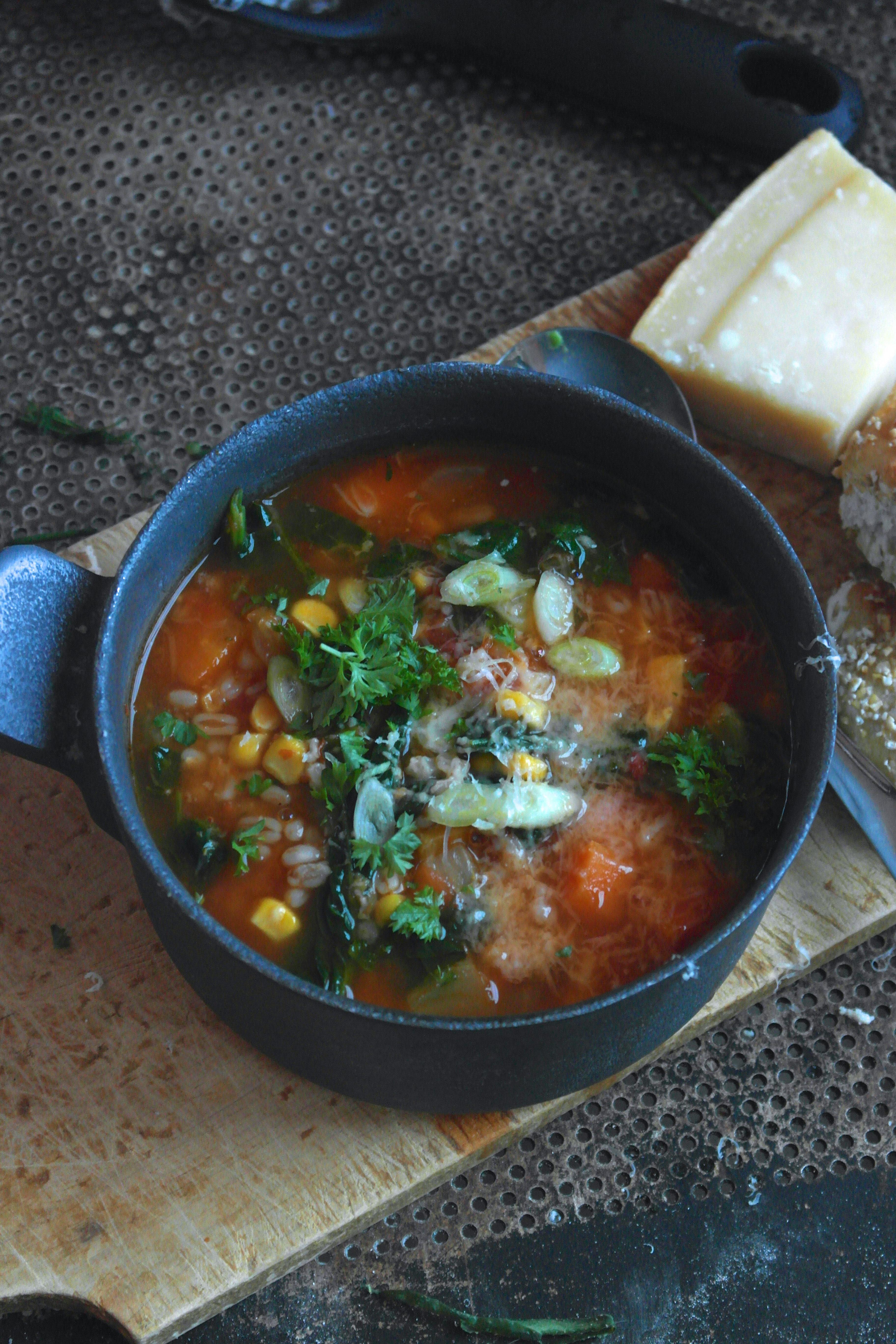 lettvint grønnsakssuppe