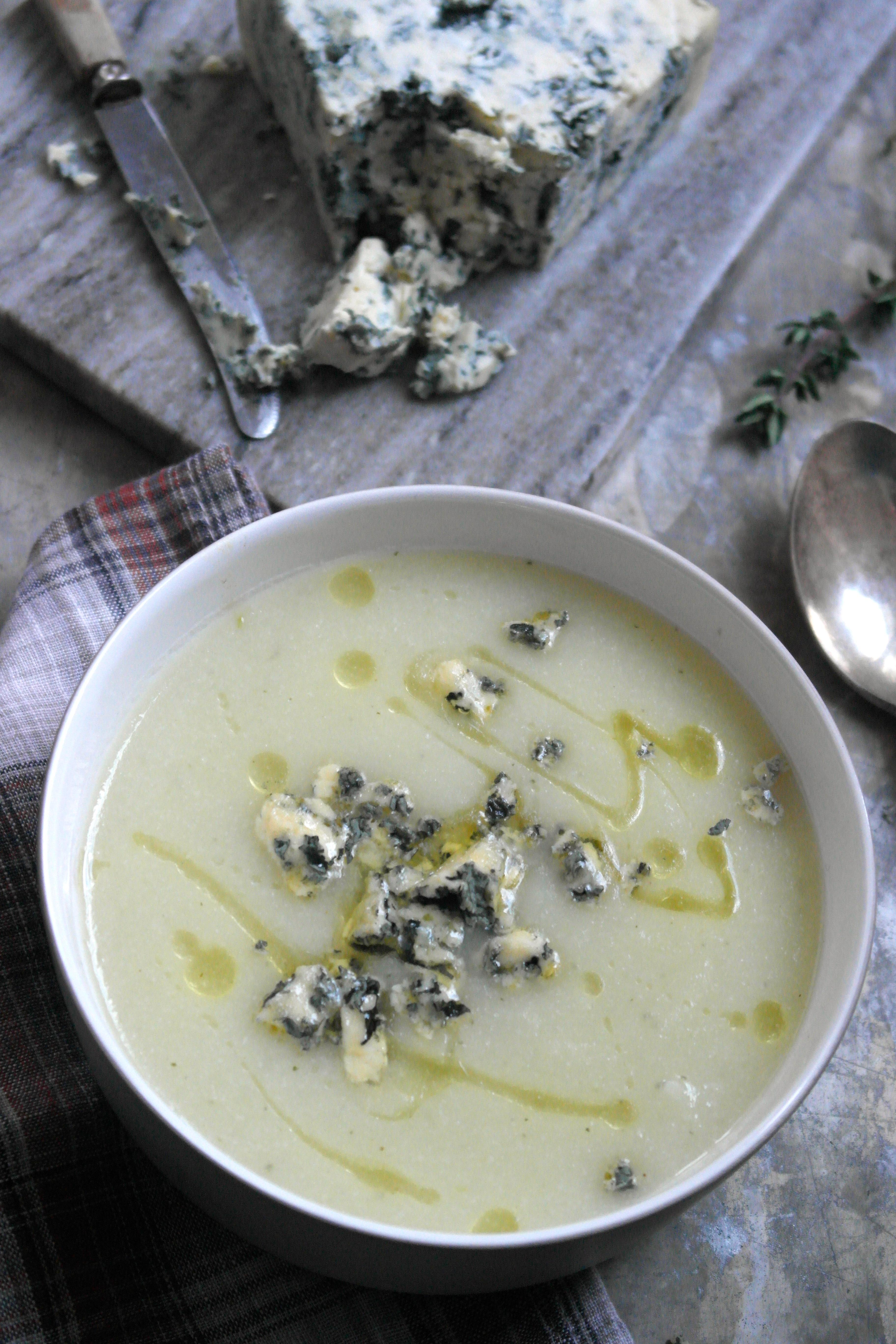 Blomkålsuppe med Selbu Blå