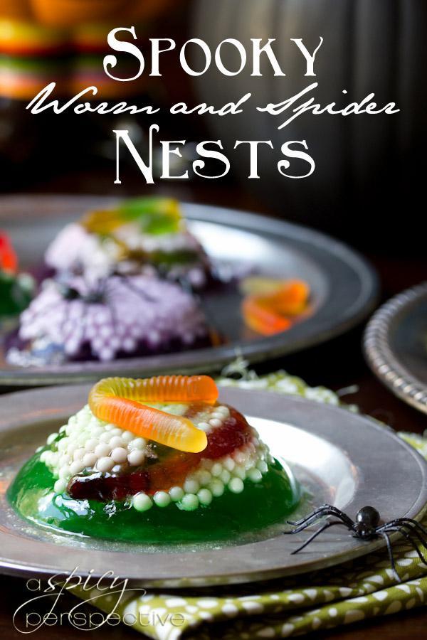 Worm-Nest - halloween oppskrifter