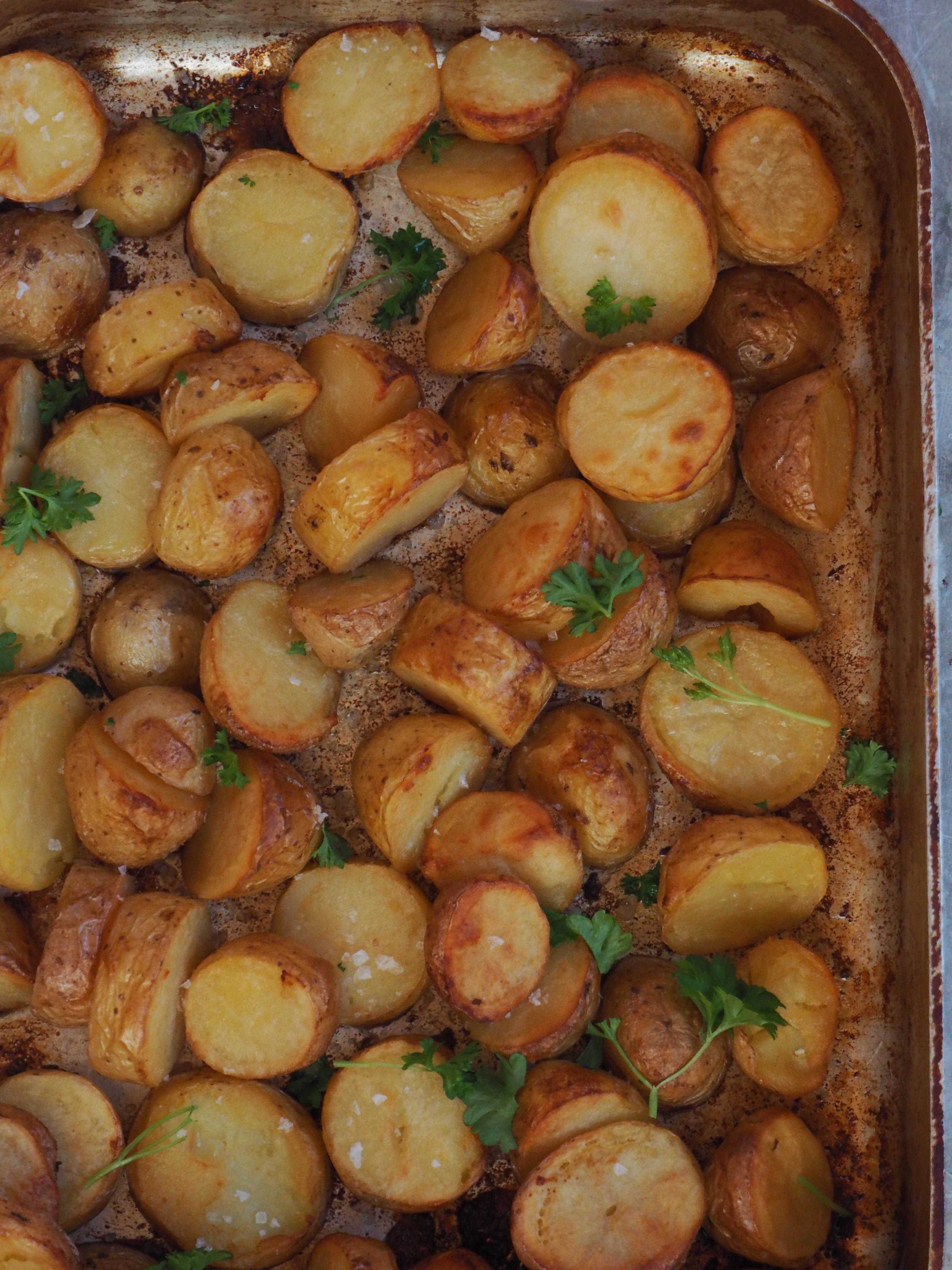 potetbåter i ovn steketid