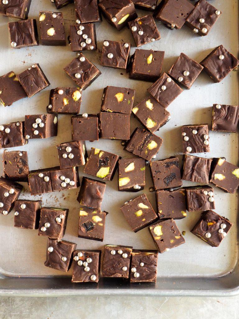 Enkel sjokoladefudge