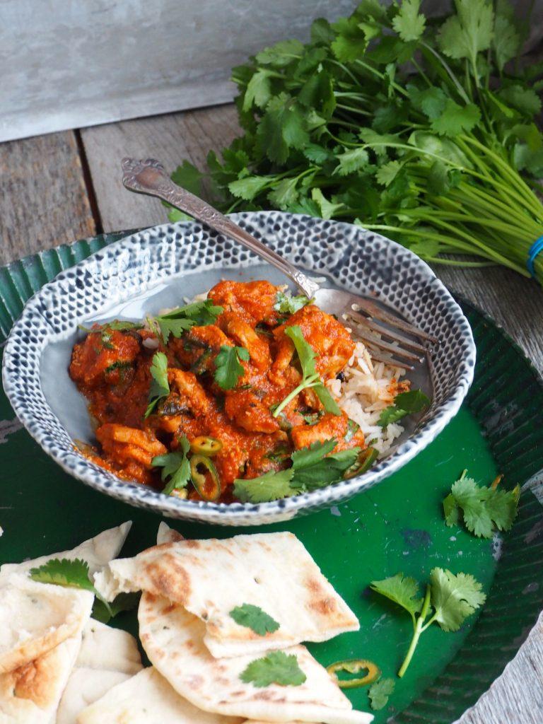 Fenomenal god kylling curry