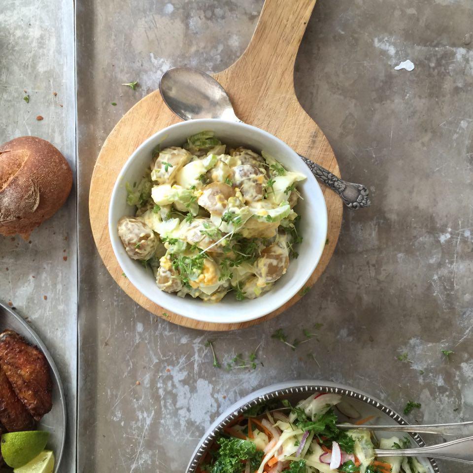 Deilig og enkel potetsalat