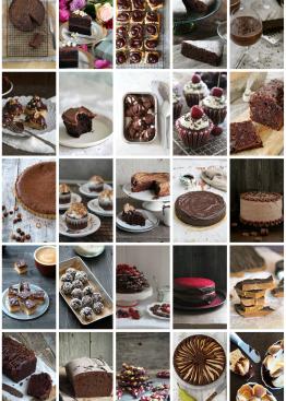 25 deilige sjokoladeoppskrifter