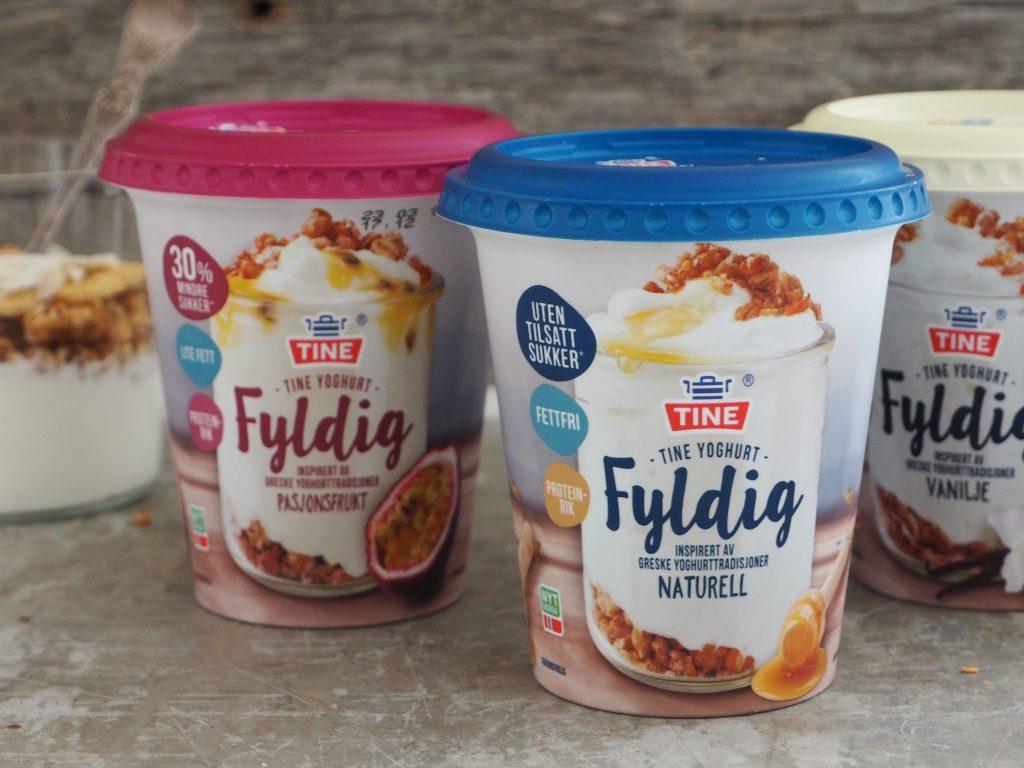 Frokostinspirasjon med TINE yoghurt Fyldig