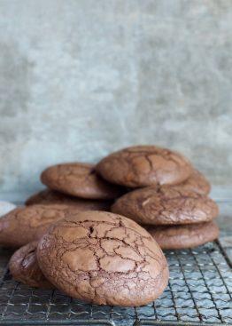 deilige sjokoladecookies