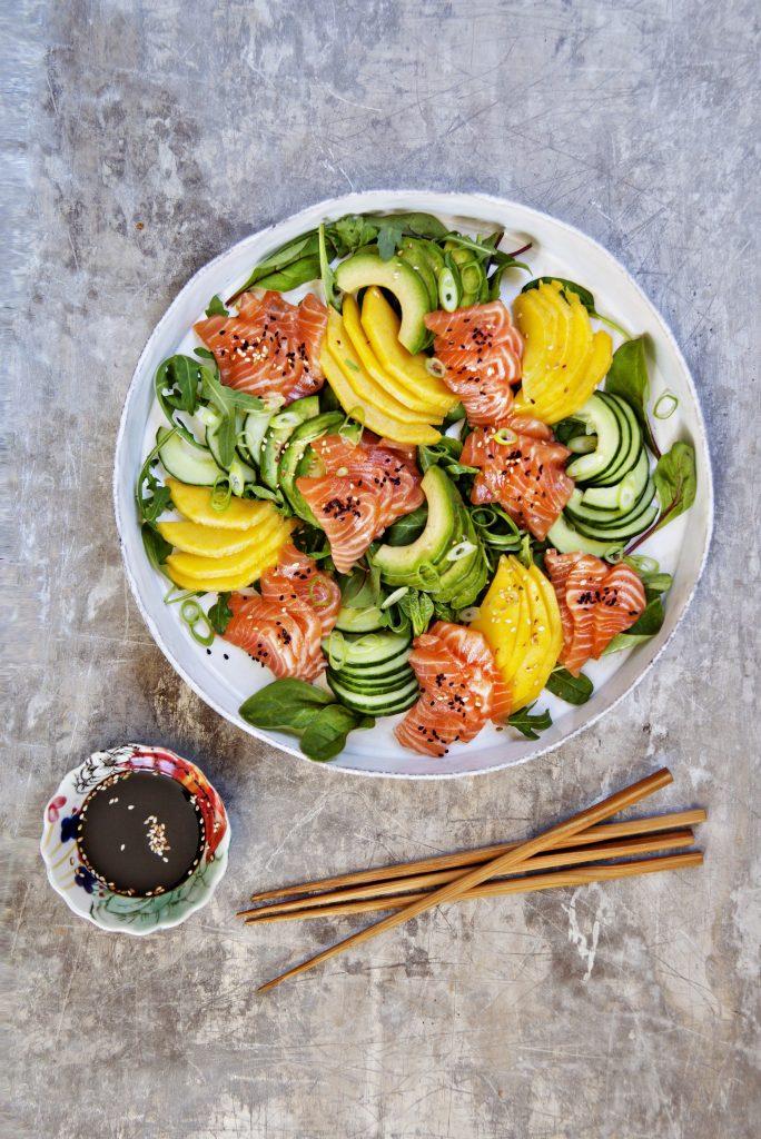 SALMA sashimi