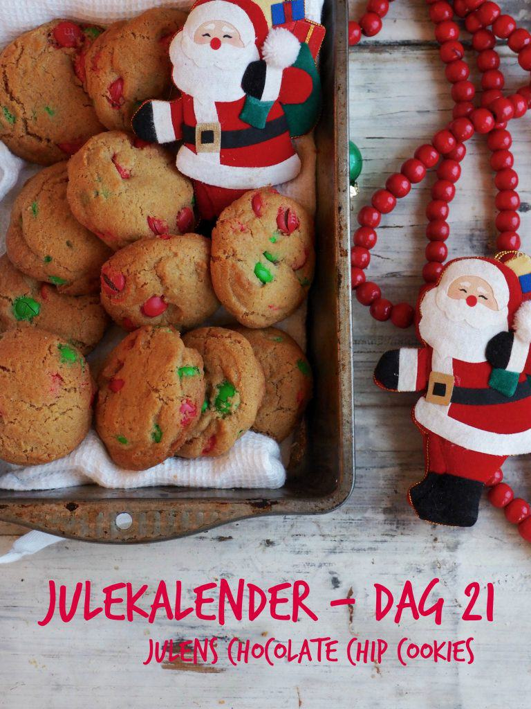 JULENS CHOCOLATE CHIP COOKIES – Julekalender dag 21