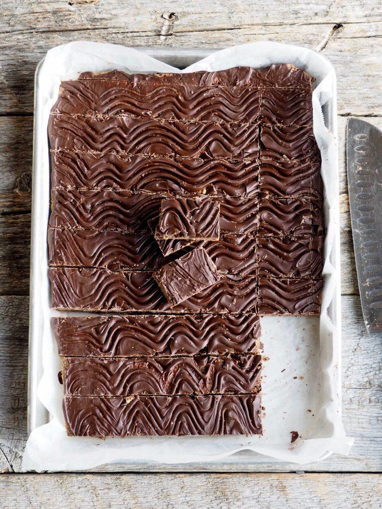 nøtte- og sjokoladebars