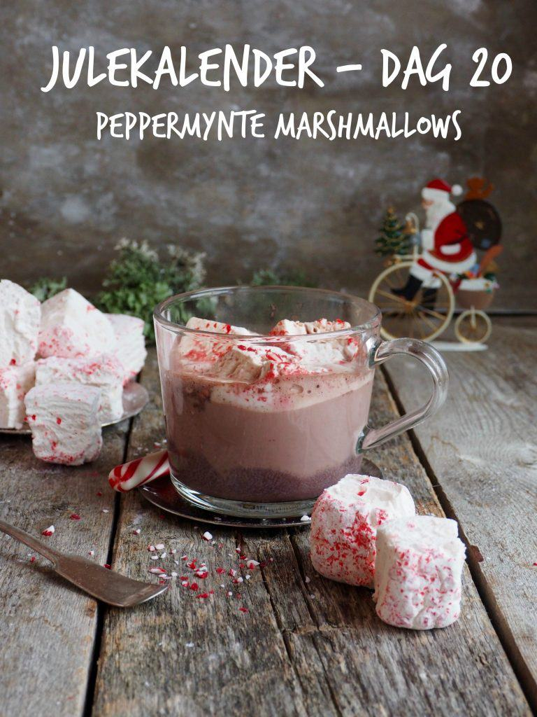 PEPPERMYNTE MARSHMALLOWS – Julekalender dag 20