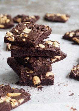 Sprøe browniebiter