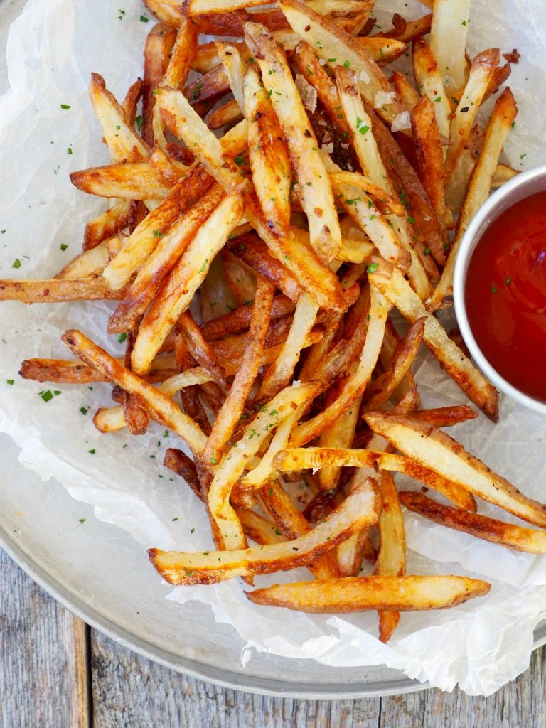 ovnsbakte pommes frites