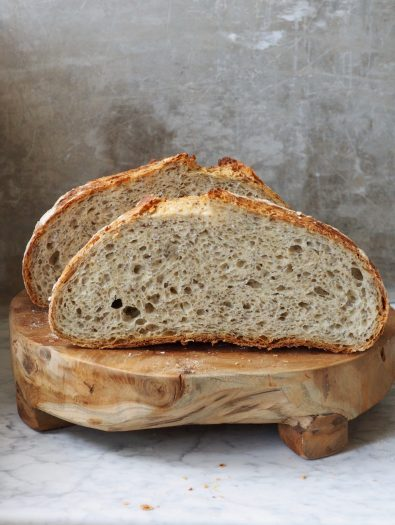 Eltefritt speltbrød med chiafrø