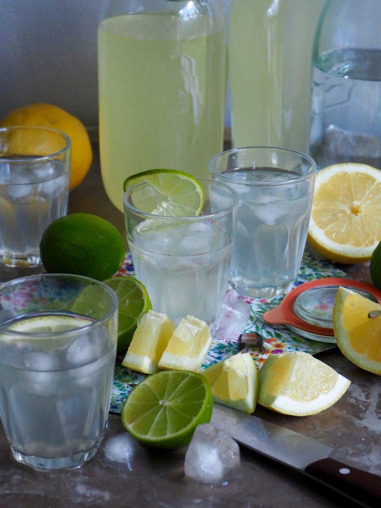 Sitronsirup (og limesirup)