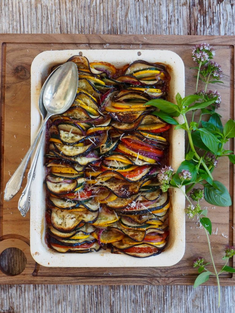 Ratatouille i form