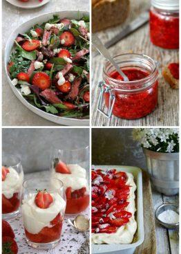 oppskrifter med jordbær