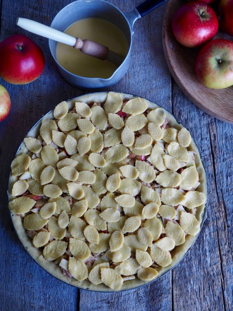 høstens eplepai