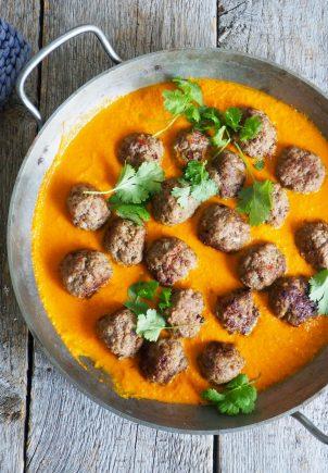 Kjøttboller i curry