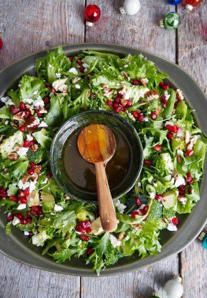julens salatkrans
