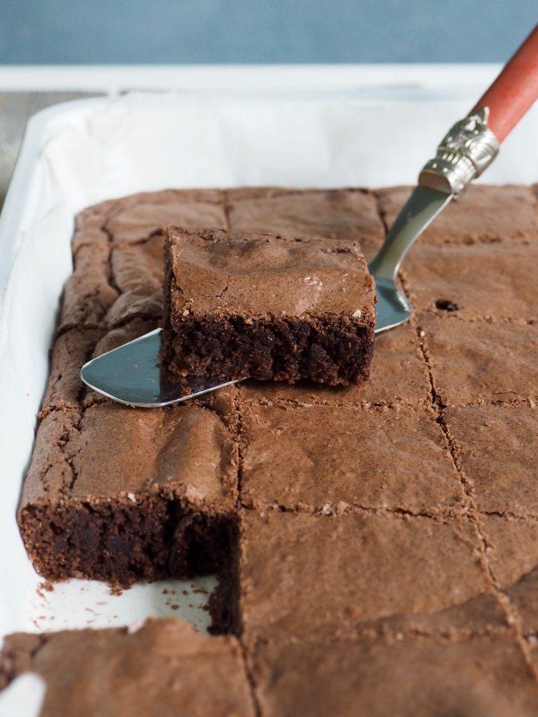 Ina's litt sunnere brownies