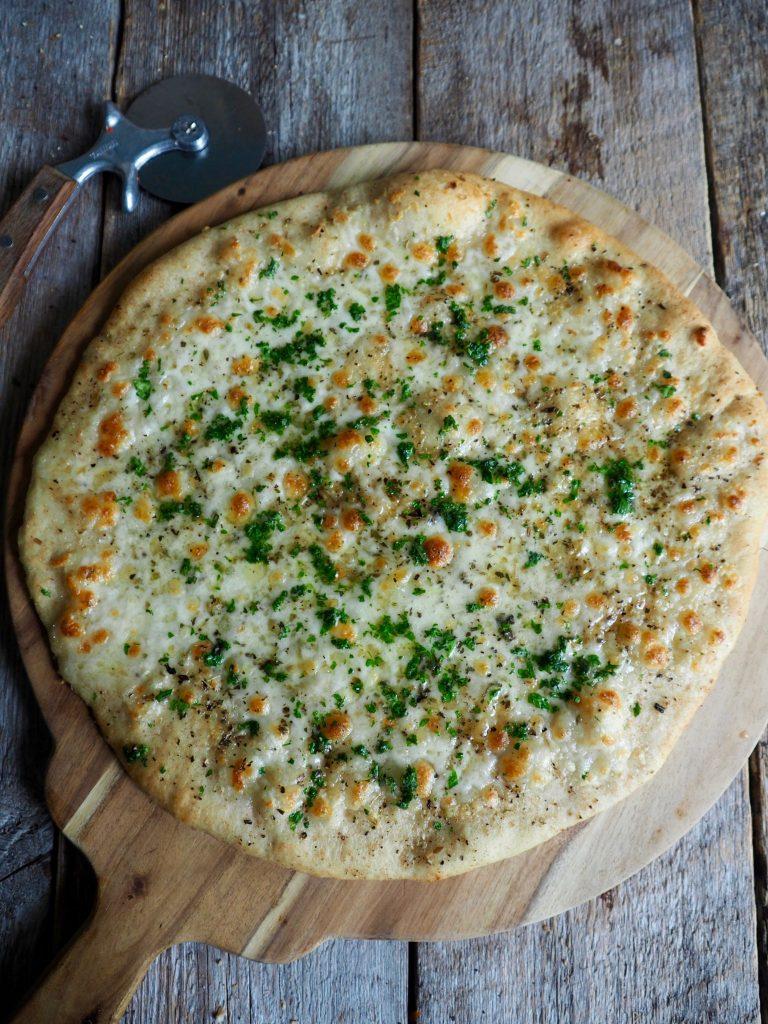 Hvit pizza